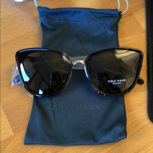 Cole Haan Polarized Cat Eye Sunglasses